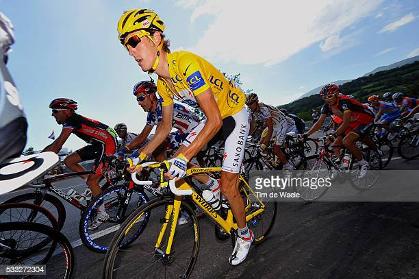 97th Tour de France 2010 / Stage 10 SCHLECK Andy Yellow Jersey / Chambery Gap / Ronde van Frankrijk / TDF / Rit Etape / Tim De Waele