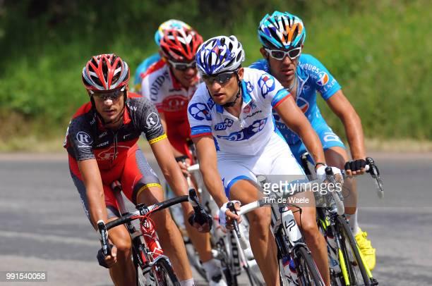 97Th Tour De France 2010, Stage 12Casar Sandy / Charteau Anthony / Kloden Kloeden Andreas / Bourg-De-Peage - Mende / Ronde Van Frankrijk, Tdf, Rit...