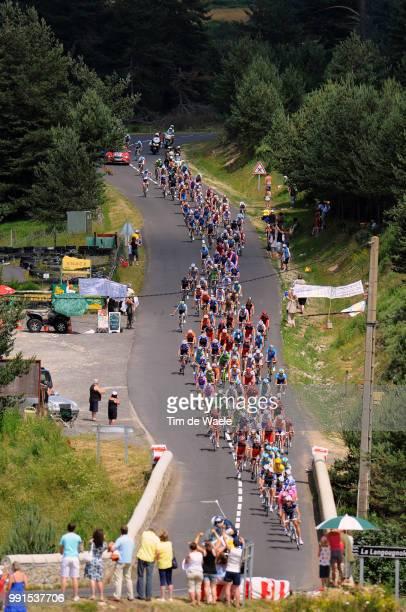 97Th Tour De France 2010, Stage 12Illustration Illustratie, Peleton Peloton, Landscape Paysage Landschap, Bourg-De-Peage - Mende / Ronde Van...