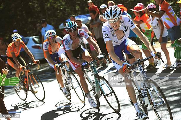 97th Tour de France 2010 / Stage 14 GESINK Robert White Jersey / VAN DEN BROECK Jurgen / MENCHOV Denis / SANCHEZ Samuel / Revel - Ax 3 Domaines /...