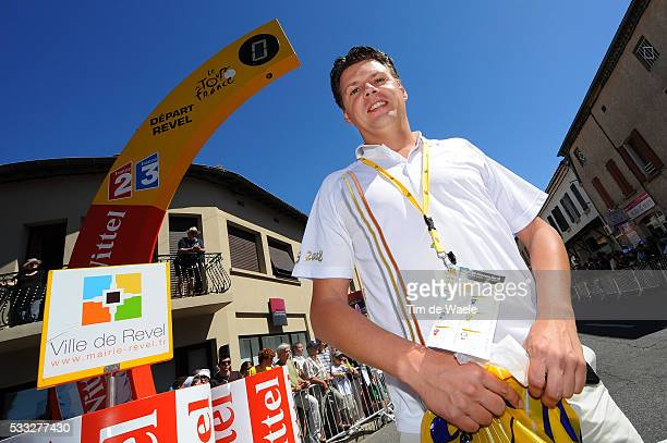 97th Tour de France 2010 / Stage 14 Raymond KERCKHOFS KERCKHOFFS Journalist Press Pers / Revel - Ax 3 Domaines / Ronde van Frankrijk / TDF / Rit...