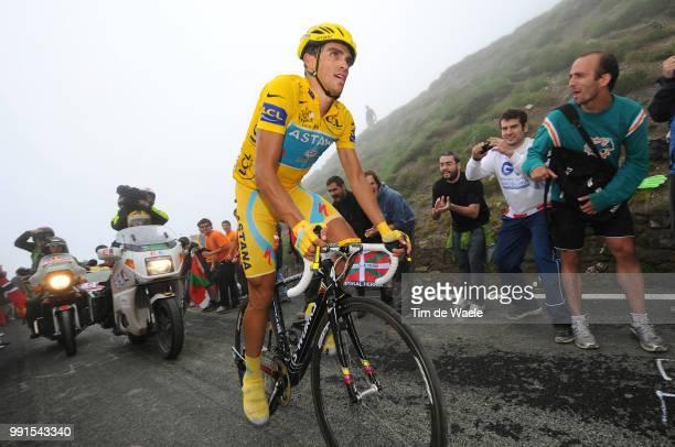 97Th Tour De France 2010, Stage 17Contador Alberto Yellow Jersey, Pau - Col Du Tourmalet - 2115M / Ronde Van Frankrijk, Tdf, Rit Etape, Tim De Waele