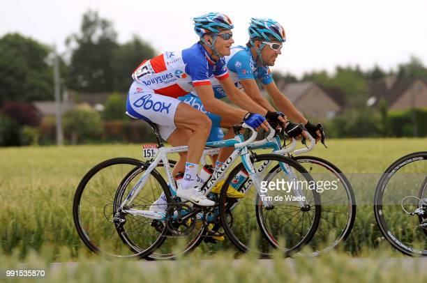 97Th Tour De France 2010 Stage 3Voeckler Thomas / Wanze Arenberg Porte Du Hainaut / Ronde Van Frankrijk Tdf Rit Etape Tim De Waele