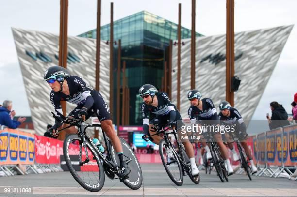 97Th Tour Of Italy 2014 Stage 1 Start Team Omega Pharma Quick Step / Petacchi Alessandro / Uran Rigoberto / Brambilla Gianluca / De Gendt Thomas /...