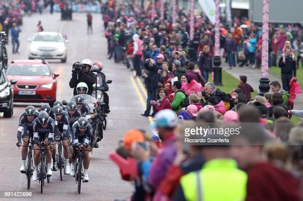 97Th Tour Of Italy 2014 Stage 1 Team Omega Pharma Quick Step / Petacchi Alessandro / Uran Rigoberto / Brambilla Gianluca / De Gendt Thomas / Keisse...