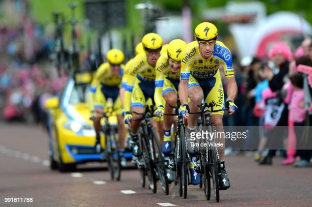 97Th Tour Of Italy 2014 Stage 1 Team Tinkoff Saxo / Roche Nicholas / Juul Jensen Christopher / Majka Rafal / Petrov Evgeny / Poljanski Pawel / Rovny...