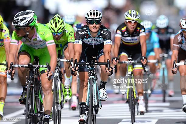 97th Tour of Italy 2014 / Stage 11 Arrival / BRAMBILLA Gianluca / Collecchio Savona / Giro Tour Ronde van Italie Etape Rit / Tim De Waele