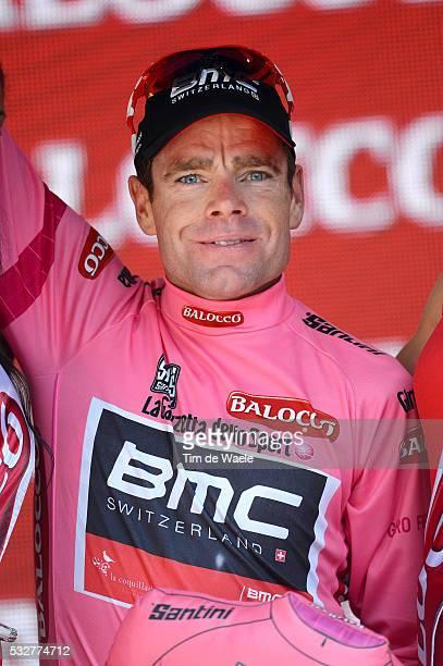 97th Tour of Italy 2014 / Stage 11 Podium / EVANS Cadel Pink Leader Jersey / Celebration Joie Vreugde / Collecchio Savona / Giro Tour Ronde van...