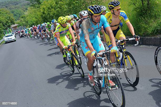 97th Tour of Italy 2014 / Stage 11 ZEITS Andrey / Crash Chute Val Injury Blessure Gewond / Mud Buoe Modder / Collecchio Savona / Giro Tour Ronde van...