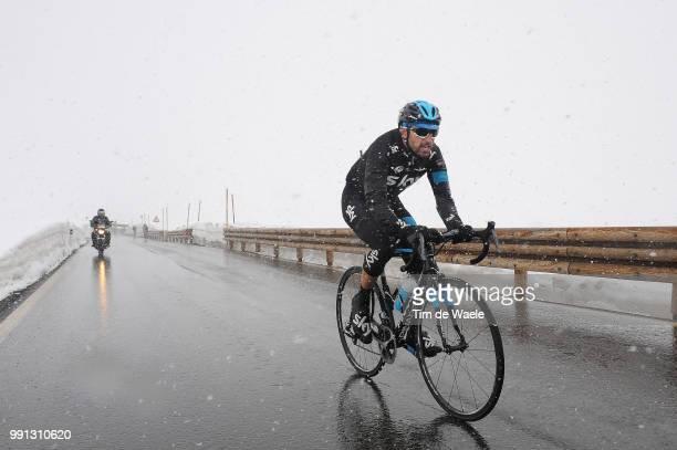 97Th Tour Of Italy 2014 Stage 16 Cataldo Dario / Ponte Di Legno Val Martello Martelltal 2059M / Giro Tour Ronde Van Italie Rit Etappe / Tim De Waele