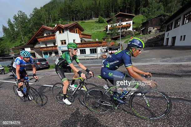 97th Tour of Italy 2014 / Stage 16 QUINTANA Nairo / ROLLAND Pierre / HESJEDAL Ryder / Ponte Di Legno Val Martello / Martelltal 2059m / Giro Tour...