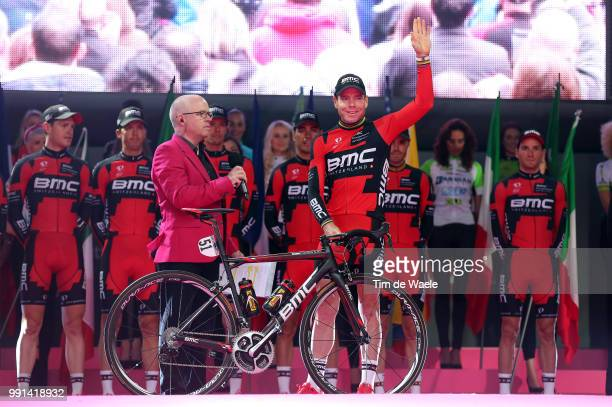 97Th Tour Of Italy 2014 Team Presentation Bmc Racing Team / Evans Cadel / Bookwalter Brent / Eijssen Yannick / Hermans Ben / Morabito Steve / Oss...
