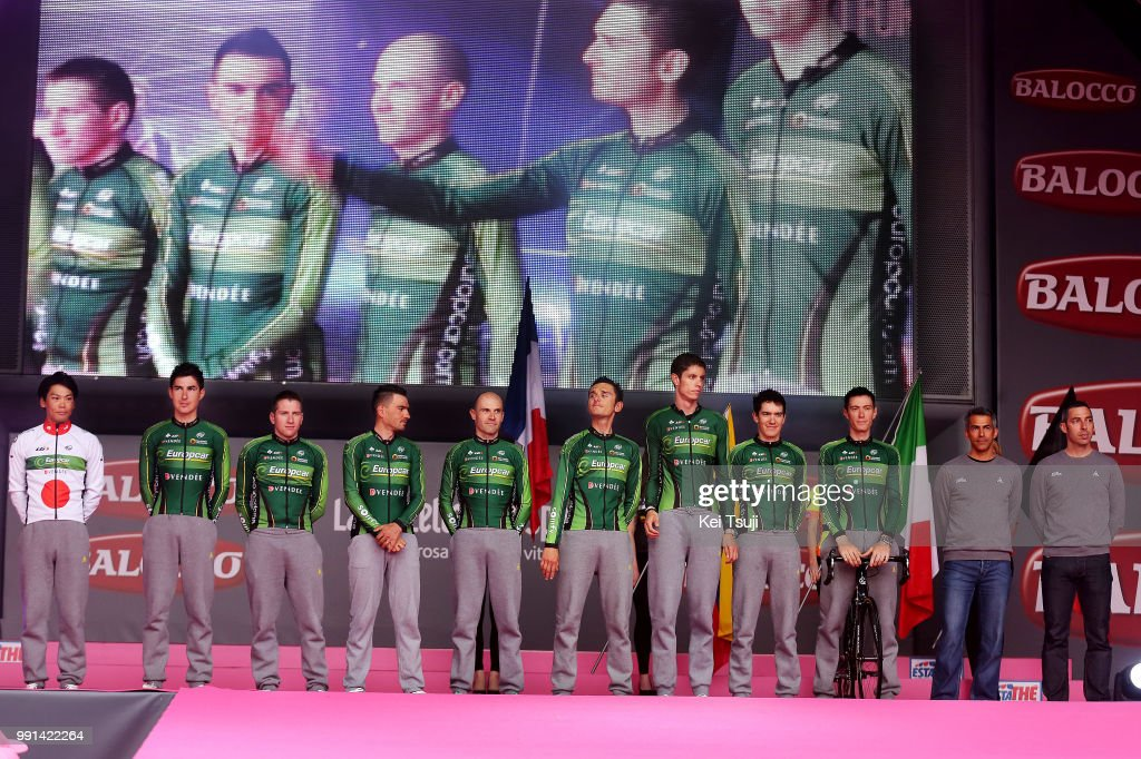 Cycling 97th Tour Of Italy 2014 Team Presentation Pictures