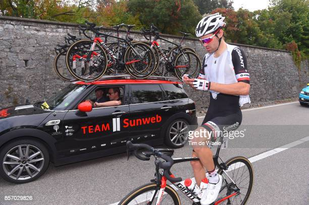 97th Tre Valli Varesine 2017 Tom DUMOULIN / Team Sunweb / Car / Saronno Varese / TVV /