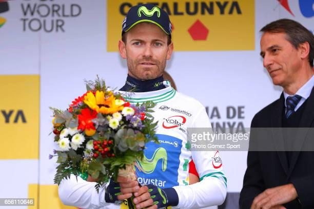 97th Volta Ciclista a Catalunya 2017 / Stage 2 Podium / Jose JOAQUIN ROJAS GIL White Ñeader Jersey / Celebration / Banyoles Banyoles / TTT / Team...