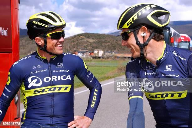 97th Volta Ciclista a Catalunya 2017 / Stage 4 Simon GERRANS / Adam YATES / La Seu d'Urgeil Igualada / Tour of Catalunya /