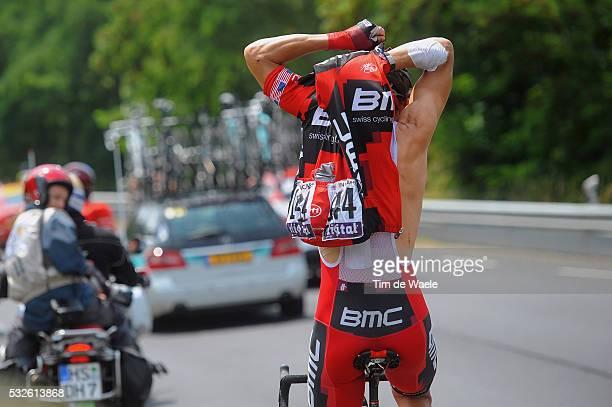 98th Tour de France 2011 / Stage 10 HINCAPIE George / Illustration Illustratie / Clothes Vetements Kleren / Team BMC Racing / Ravitaillement...