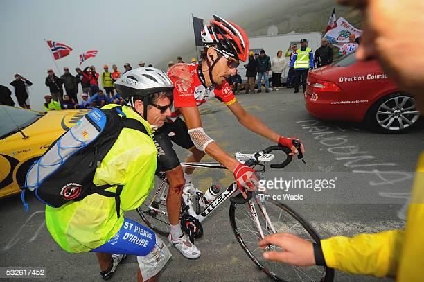 98th Tour de France 2011 / Stage 12 Andreas KLODEN KLOEDEN Injury Blessure Gewond / Cugnaux - Luz-Ardiden / Ronde van Frankrijk / TDF / Etape Rit /...
