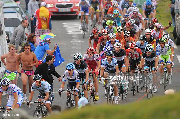 98th Tour de France 2011 / Stage 12 CONTADOR Alberto / SCHLECK Frank / BASSO Ivan / EVANS Cadel / SCHLECK Andy / CUNEGO Damiano / DANIELSON Tom /...