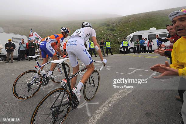 98th Tour de France 2011 / Stage 12 GESINK Robert White Jersey / Grischa NIERMANN / Col du Tourmalet / Cugnaux - Luz-Ardiden / Ronde van Frankrijk /...