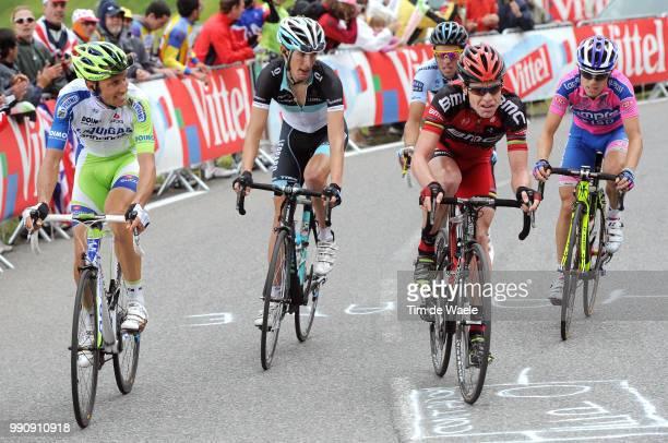 98Th Tour De France 2011, Stage 12Evans Cadel / Contador Alberto / Basso Ivan / Schleck Andy / Contador Alberto / Damiano Cunego / Cugnaux -...