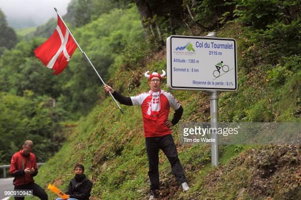98Th Tour De France 2011, Stage 12Illustration Illustratie, Norway Fans Supporters Public Publiek Publique, Col Du Tourmalet / Cugnaux - Luz-Ardiden...