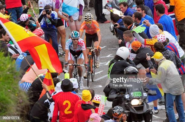 98Th Tour De France 2011, Stage 12Sanchez Samuel / Vanendert Jelle / Cugnaux - Luz-Ardiden /Ronde Van Frankrijk, Tdf, Etape Rit / Tim De Waele