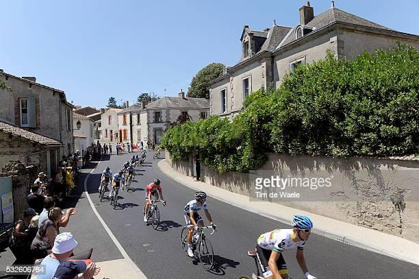 98th Tour de France 2011 / Stage 3 Illustration Illustratie / City Ville Stad / Peleton Peloton / Landscape Paysage Landschap / Olonne-Sur-Mer -...