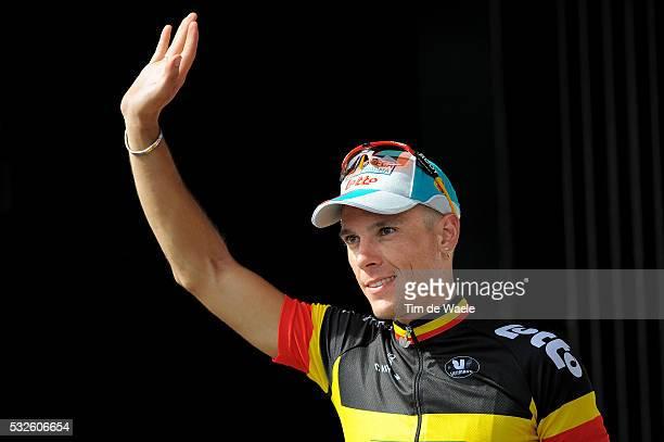 98th Tour de France 2011 / Stage 3 Podium / Philippe GILBERT Celebration Joie Vreugde / OlonneSurMer Redon / Ronde van Frankrijk / TDF / Etape Rit...