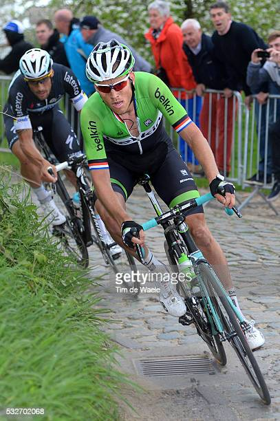 98th Tour of Flanders 2014 BOOM Lars / BOONEN Tom / Oude Kwaremont / Brugge - Oudenaarde / Flanders Classics / Tour de Flandres / Ronde van...