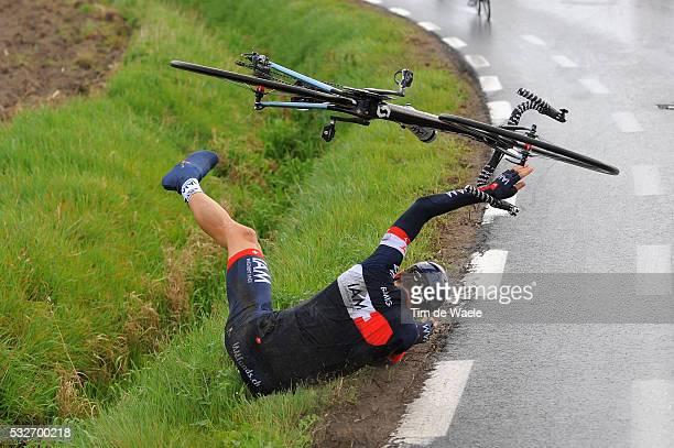 98th Tour of Flanders 2014 ELMIGER Martin / Crash Chute Val / Brugge - Oudenaarde / Flanders Classics / Tour de Flandres / Ronde van Vlaanderen / RVV...