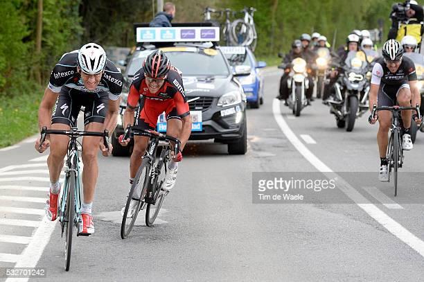 98th Tour of Flanders 2014 VANDENBERGH Stijn / VAN AVERMAET Greg / CANCELLARA Fabian / Brugge - Oudenaarde / Flanders Classics / Tour de Flandres /...