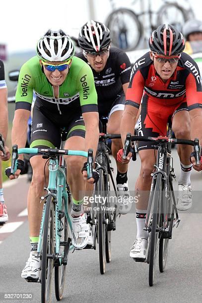 98th Tour of Flanders 2014 VANMARCKE Sep / VAN AVERMAET Greg / CANCELLARA Fabian / Brugge - Oudenaarde / Flanders Classics / Tour de Flandres / Ronde...