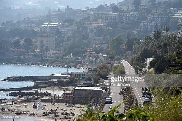 98th Tour of Italy 2015 / Stage 1 Team Cannondale Garmin / Illustration Illustratie / Mediterranean Sea Mer Zee / Landscape Paysage Landschap / Team...