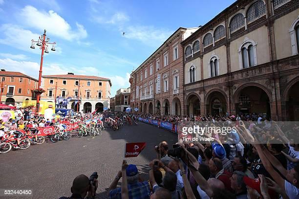 98th Tour of Italy 2015 / Stage 10 Illustration Illustratie / Peleton Peloton / FORLI City Ville Stad / Public Publiek Spectators / Landscape Paysage...