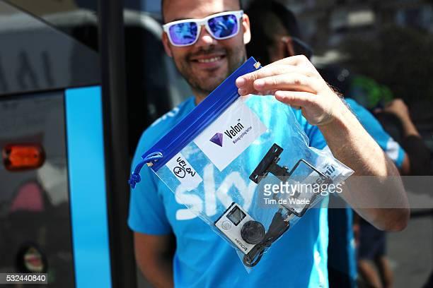 98th Tour of Italy 2015 / Stage 10 Illustration Illustratie / Velon Camera Go Pro / Team Sky / Civitanova Marche - Forli / Giro Tour Ronde van Italie...