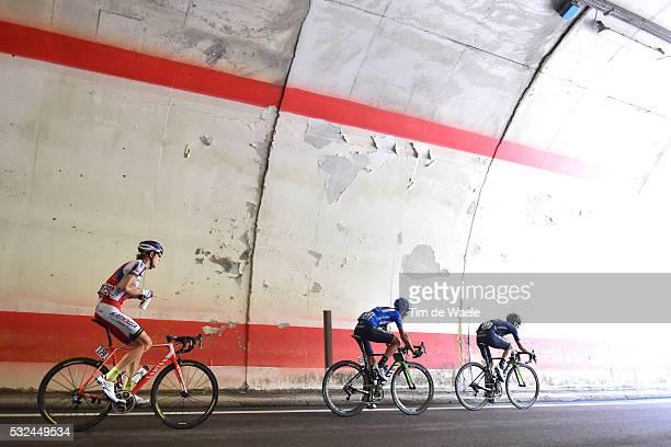 98th Tour of Italy 2015 / Stage 15 Illustration Illustratie/ Tunnel/ ZAKARIN Ilnur / INTXAUSTI Benat Blue Jersey/ VISCONTI Giovanni / Marostica -...