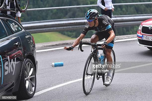 98th Tour of Italy 2015 / Stage 15 PORTE Richie / Bottle Bidon/ Marostica - Madonna di Campiglio Giro Tour Ronde van Italie / Rit Etape /© Tim De...