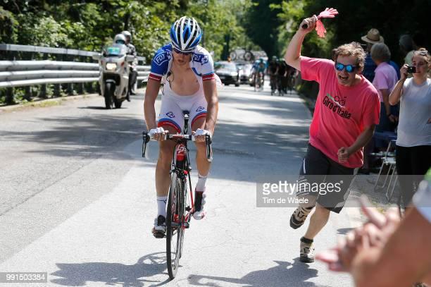98Th Tour Of Italy 2015, Stage 18 Geniez Alexandre Fans Supporters, Melide - Verbania / Giro Tour Ronde Van Italie, Rit Etape, Pool Rb