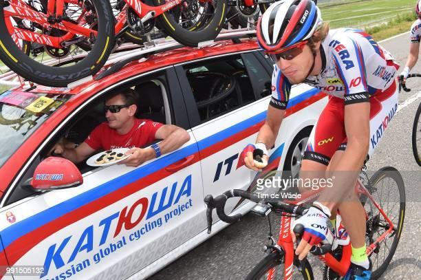 98Th Tour Of Italy 2015 Stage 21Zakarin Ilnur / Katusha Team Car Voiture Auto Caviar/TorinoMilano / Giro Tour Ronde Van Italie Rit Etape
