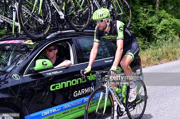98th Tour of Italy 2015 / Stage 6 HESJEDAL Ryder / WEGELIUS Charly Sportsdirector Team Cannondale Garmin / Montecatini Terme - Castiglione Della...