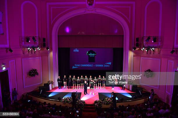 98th Tour of Italy 2015 / Team Presentation Team Cannondale Garmin / HESJEDAL Ryder / ACEVEDO COLLE Javier Alexis / BROWN Nathan / CARDOSO Andre...