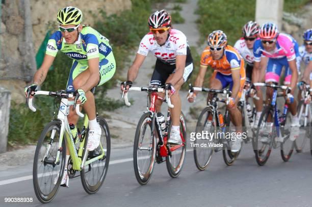 Milan - Sanremo Filippo Pozzato , Fabian Cancellara , Oscar Freire , Alessandro Ballan /Milaan Milano San Remo , Tim De Waele, Pb