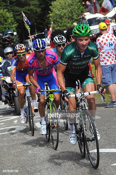 99th Tour de France 2012 / Stage 10 Thomas Voeckler / Michele Scarponi / Luis Leon Sanchez Gil / Dries Devenyns / Macon - Bellegarde-Sur-Valserine /...