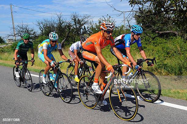 99th Tour de France 2012 / Stage 12 Egoi Martinez De Esteban / Robert Kiserlovski / JeanChristophe Peraud / David Millar / Cyril Gautier /...