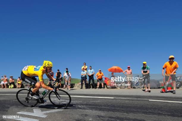 99Th Tour De France 2012 Stage 16Bradley Wiggins Yellow Jersey Pau BagneresDeLuchon / Ronde Van Frankrijk Tdf Rit Stage /Tim De Waele