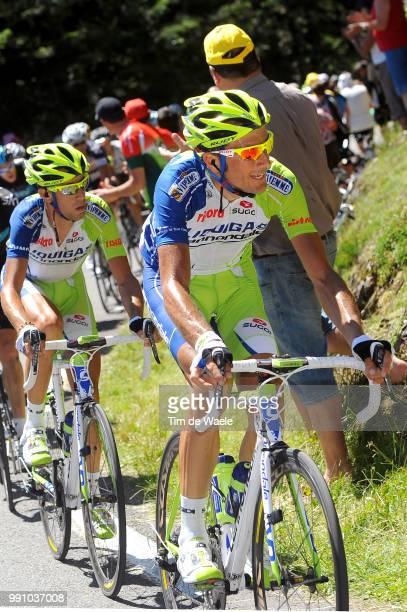 99Th Tour De France 2012, Stage 16Ivan Basso / Vincenzo Nibali / Pau - Bagneres-De-Luchon / Ronde Van Frankrijk Tdf, Rit Stage /Tim De Waele