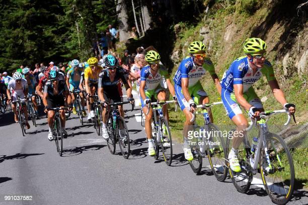 99Th Tour De France 2012, Stage 16Ivan Basso / Vincenzo Nibali / Bradley Wiggins Yello Jersey, Michael Rogers / Pau - Bagneres-De-Luchon / Ronde Van...