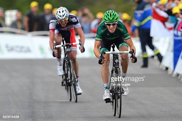 99th Tour de France 2012 / Stage 17 Arrival / Pierre Rolland / Jurgen Van Den Broeck / Bagneres-de-Luchon - Peyragudes / Ronde van Frankrijk TDF /...