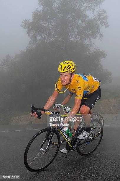 99th Tour de France 2012 / Stage 17 Bradley Wiggins Yellow Jersey / BagneresdeLuchon Peyragudes / Ronde van Frankrijk TDF / Rit Stage /Tim De Waele